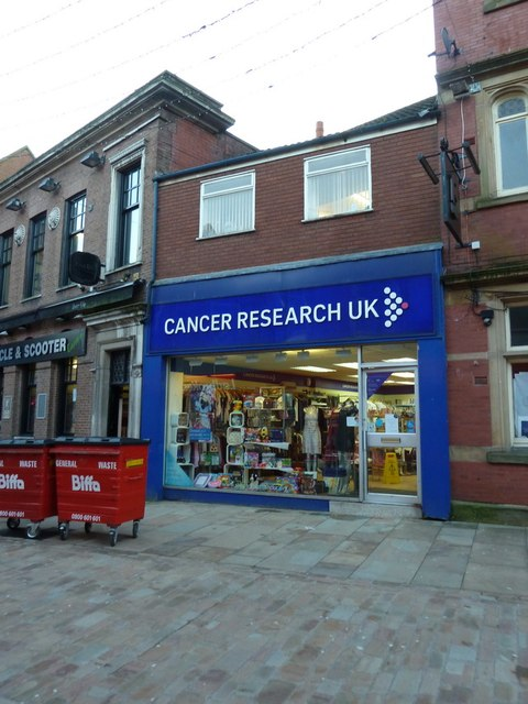 Cancer Research Shop, Northgate, Blackburn