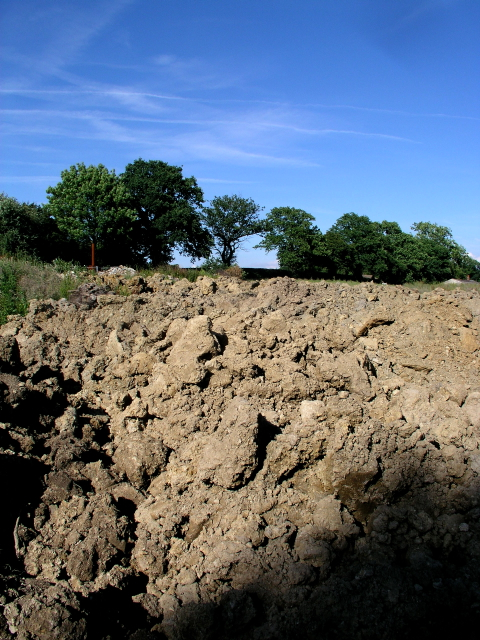 Bethany School Construction Spoil Dumped at Worms Hill