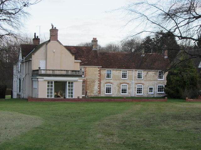 Landwade Hall (view of west side)