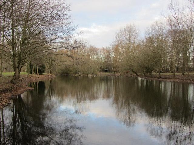 Pond at Landwade