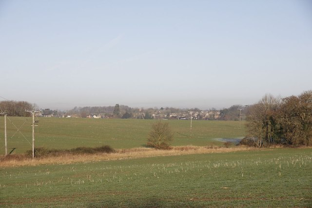 View towards Hackleton
