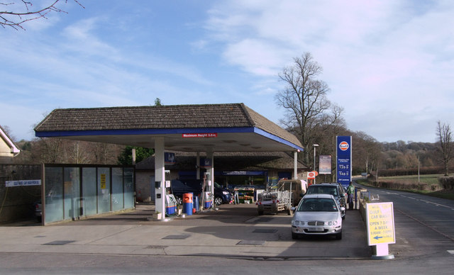 Colesbourne Filling Station and Post Office