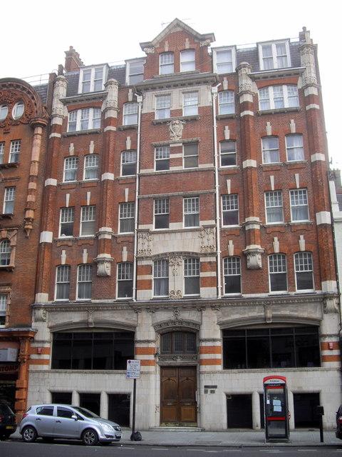 Ashley Mansions, Vauxhall Bridge Road, London