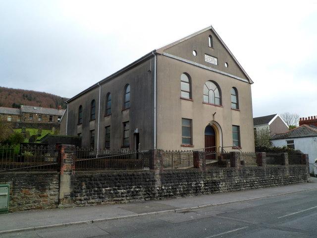 Carmel Independent chapel, Treherbert