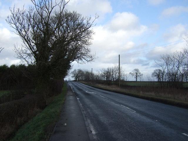 B6165 towards Ripley