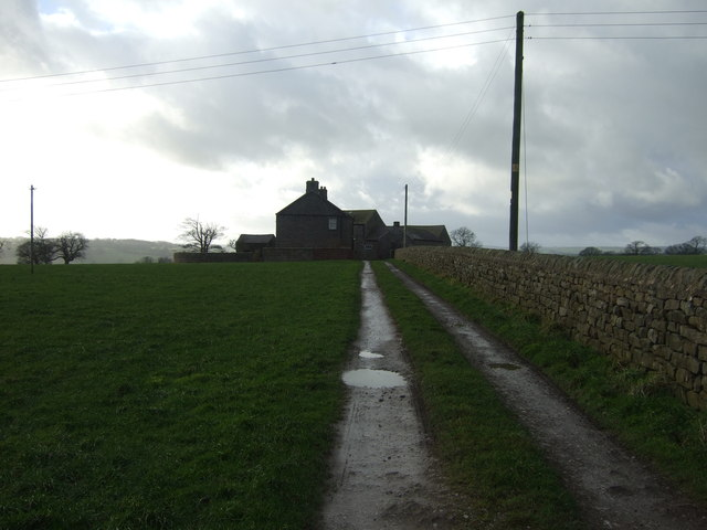 Track to Clint House Farm