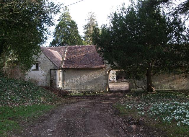 West coach house, Colesbourne Park estate