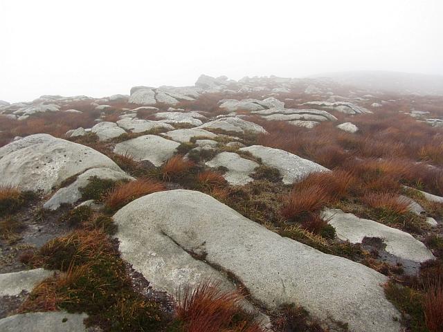 Exposed granite, Sail Chalmadale