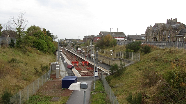 Larkhall railway station