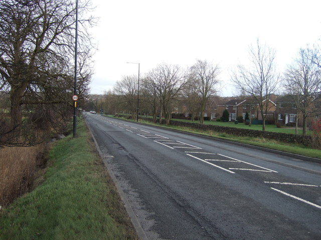 Skipton Road (A59) heading east