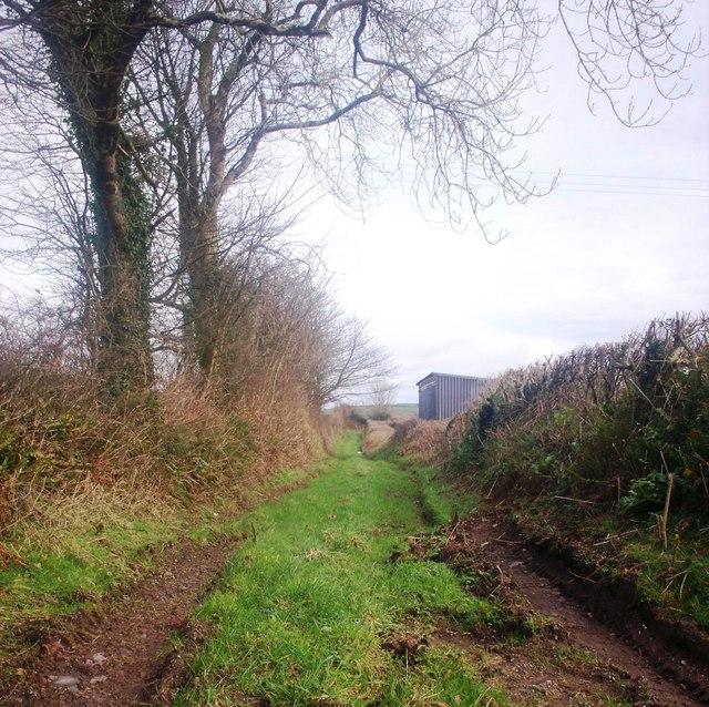 Footpath to Crunwere Church, Llanteg