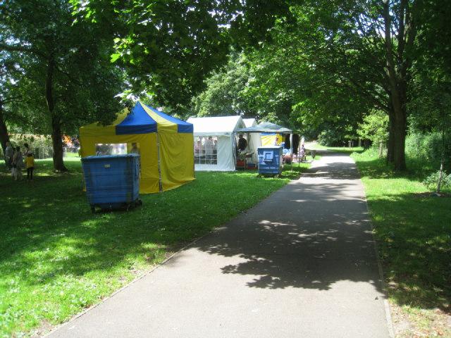 Food tents - Eastrop Park