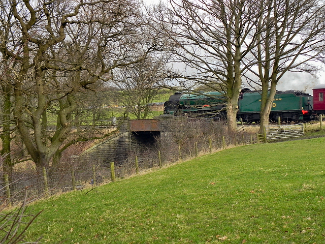 East Lancashire Railway Bridge#37, Springside Farm
