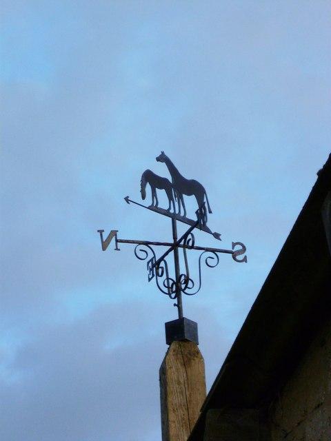 Weathervane in South Mundham
