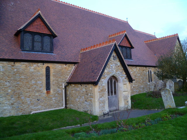 The porch and southern elevation of North Mundham church