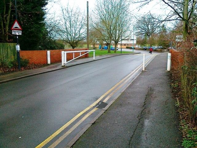 Entrance to Castle Farm Recreation Centre