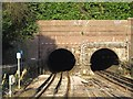 TQ2288 : The tunnels north of Hendon Central tube station by Mike Quinn