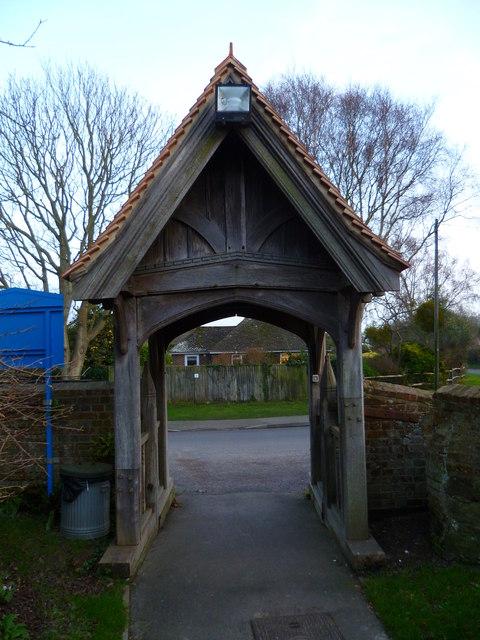 Lych gate in North Mundham