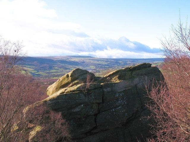 Brimham Rocks view