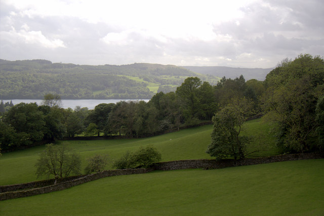 Farmland near Holdbeck Lane, Ambleside, Cumbria
