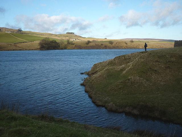 Grassholme Reservoir from the Wester Beck inlet