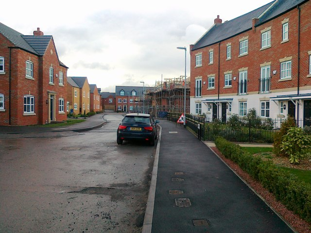 New housing development, Two Gates