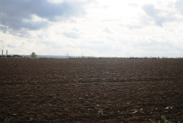 Ploughed land south of Malmaynes Hall Farm