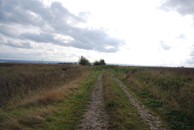 Track south of Malmaynes Hall Farm