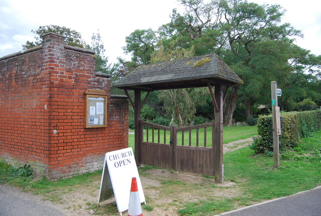 A sort of Lych gate, Church of St Peter