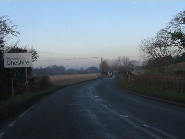 Welcome to Cheshire on the A49