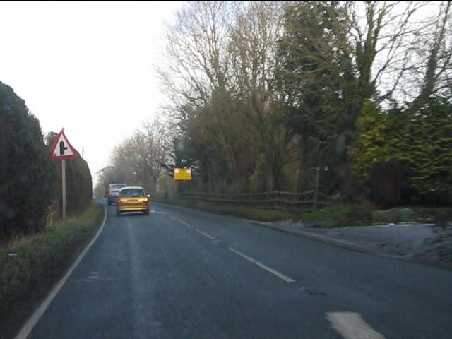 A49 at Bradeley Green