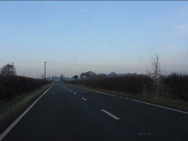 A49 north of Quoisley Bridge
