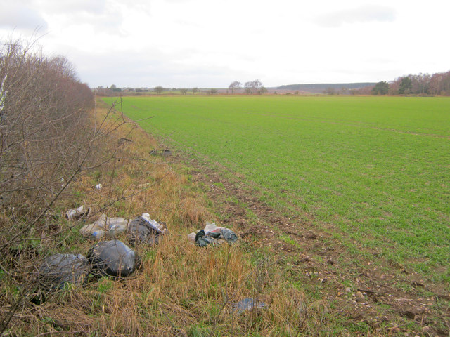 Arable land on Lockwell Hill
