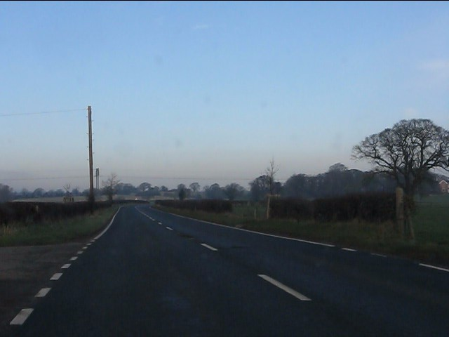 A49 near The Willey Farm