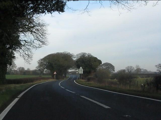 A49 near Barmere House