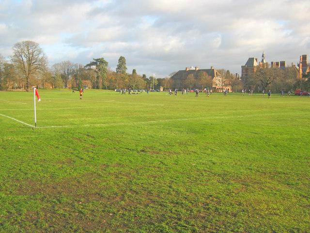 Playing fields at Kelham Hall