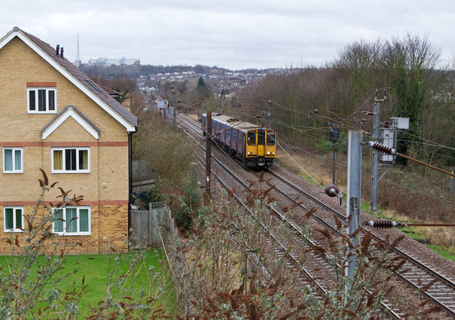 Between Bowes Park and Palmers Green