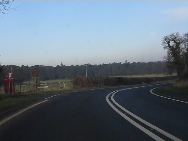 Bickley Moss junction, A49