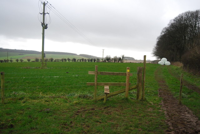 Stile near Big Wood