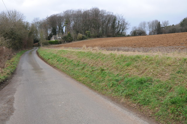 Country road from Coberley