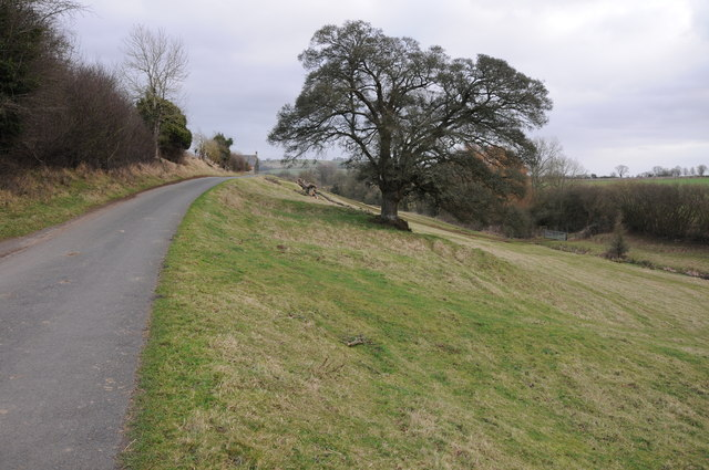 Country road near Town End