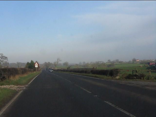 A49 near Fields Farm