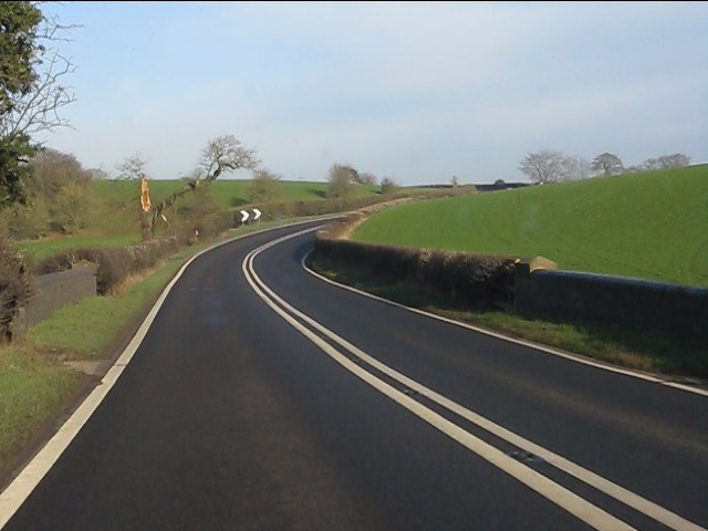 A49 at Cholmondeley Bridge