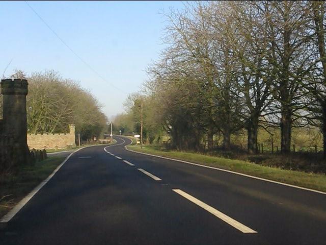 A49 at Beeston Lodge