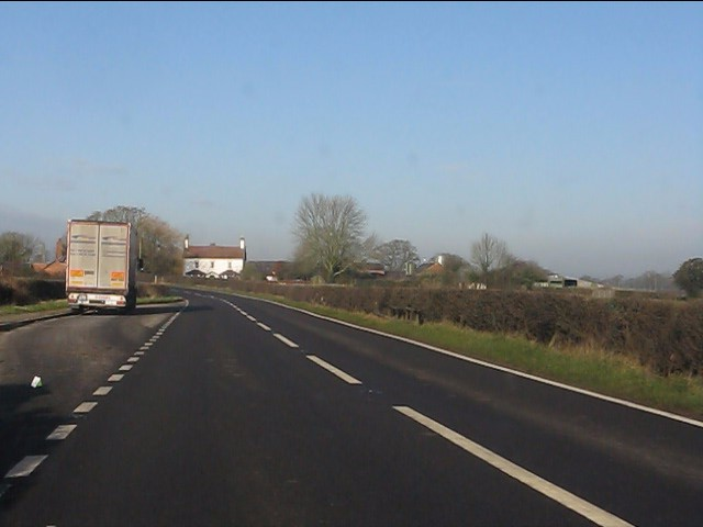 Layby on the northbound A49