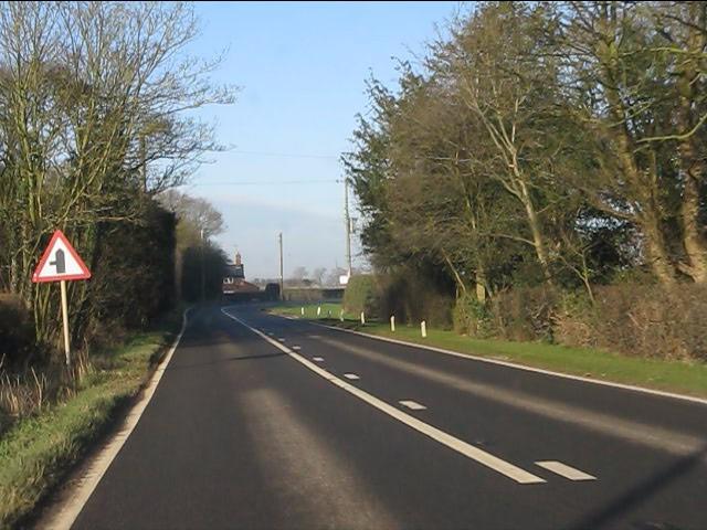 A49 at Croxton Green Farm