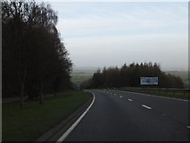 SX9184 : The northbound carriageway of A380 descending Telegraph Hill by David Smith
