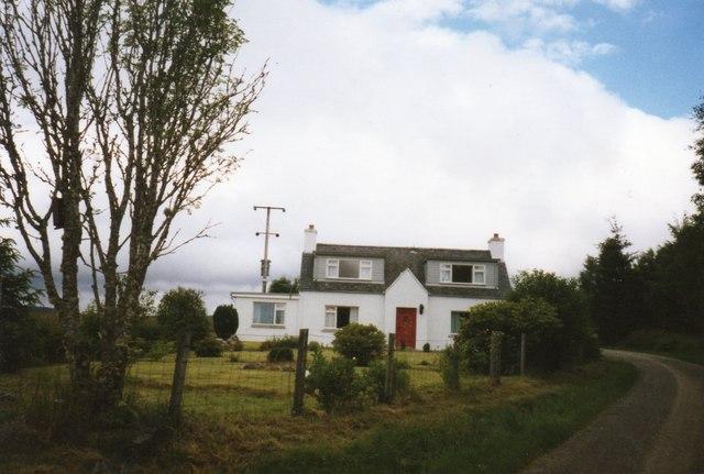 Tyndrum in 1989