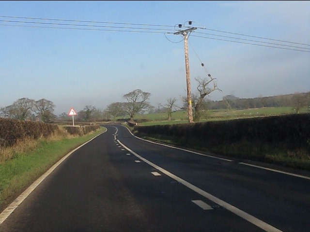 A49 north of Croxton Green