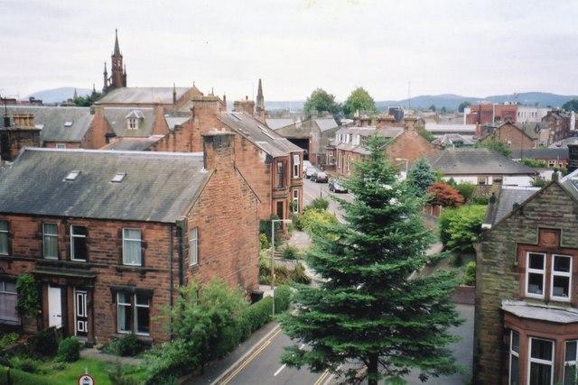 Looking along Watling Street